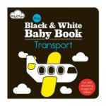 Black & White Baby Book - Transport