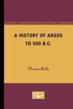 History of Argos to 500 B.C