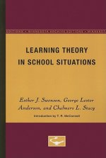 Learning Theory in School Situations