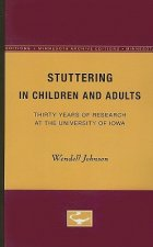 STUTTERING IN CHILDREN AND ADULTS