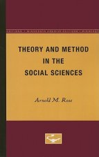 THEORY AND METHOD IN THE SOCIAL SCIEN