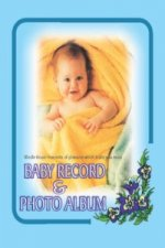 Baby Record and Photo Album