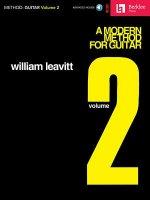 Modern Method for Guitar - Volume 2