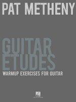 Metheny Pat Guitar Etudes Warm-Up Exercises Gtr Tab Book
