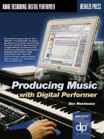 Producing Music with Digital Performer