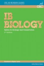 IB Biology - Option G: Ecology and Conservation Standard and Higher Level
