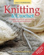KNITTING CROCHET A BEGINNERS STEP BY STE