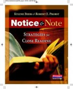 NOTICE & NOTE STRATEGIES FOR CLOSE READI