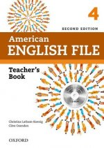 American English File: 4: Teacher's Book with Testing Program CD-ROM