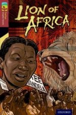 Oxford Reading Treetops Graphic Novels: Level 15: Lion of Africa