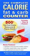 Complete Calorie Fat & Carb Counter