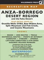 Map Anza-Borrego Desert Region