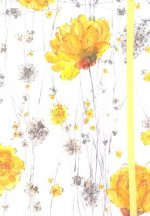 Small Journal Yellow Flowers