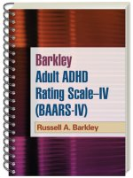 Barkley Adult ADHD Rating Scale-IV (BAARS-IV)