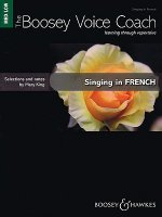 SINGING IN FRENCH MEDIUM LOW VOICE