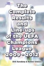 Complete Results and Line-ups of the UEFA Champions League 2009-2012