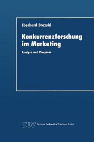 Konkurrenzforschung Im Marketing