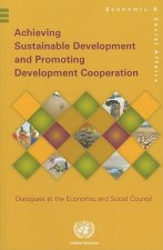 Achieving Sustainable Development and Promoting Development Cooperation