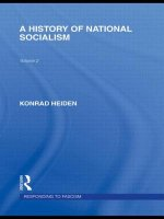 History of National Socialism