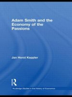 Adam Smith and the Economy of the Passions
