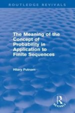 Meaning of the Concept of Probability in Application to Finite Sequences