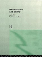 Privatization and Equity