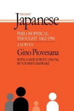 Recent Japanese Philosophical Thought, 1862-1994