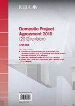 RIBA Domestic Project Agreement 2010 (2012 Revision): Architect