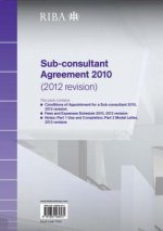RIBA Sub-consultant Agreement 2010 (2012 Revision) Pack
