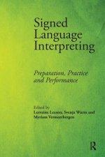 Signed Language Interpreting
