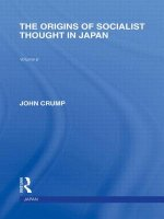 Origins of Socialist Thought in Japan
