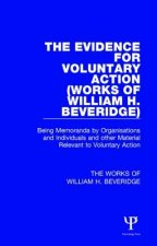 Evidence for Voluntary Action (Works of William H. Beveridge)