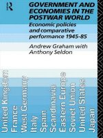 Government and Economies in the Postwar World