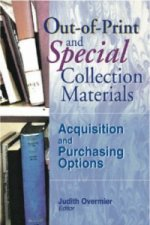 Out-of-Print and Special Collection Materials