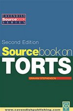 Sourcebook on Tort Law
