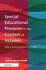 Special Educational Provision in the Context of Inclusion