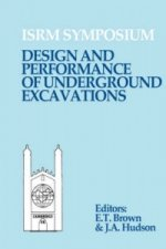 Design and Performance of Underground Excavations