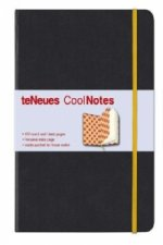 Black/Orange Argyle Coolnotes Journal