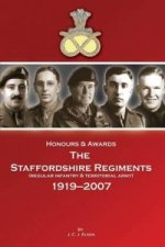 Honours & Awards the Staffordshire Regiment 1919-2007