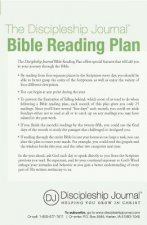 Discipleship Journal Bible Reading Plan