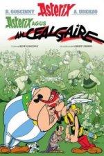 Asterix Agus an Cealgaire (Gaelic)