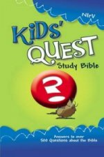 NIrV Kid's Quest Study Bible