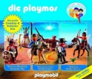Die Playmos - Die Cowboy- und Indianerbox