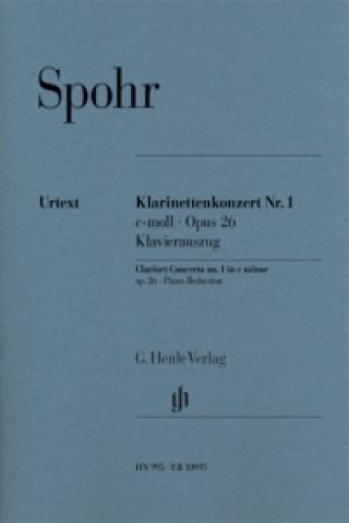 Klarinettenkonzert Nr. 1 c-moll op. 26, Klavierauszug