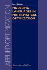 Modeling Languages in Mathematical Optimization