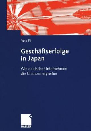 Geschaftserfolge in Japan