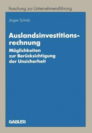 Auslandsinvestitionsrechnung