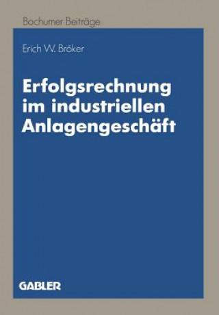 Erfolgsrechnung im Industriellen Anlagengeschaft