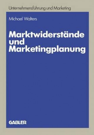 Marktwiderst nde Und Marketingplanung