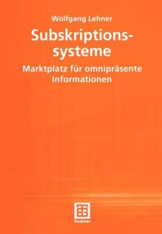 Subskriptionssysteme